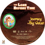 The Land Before Time: Journey to Big Water (2002) R1 Custom Label