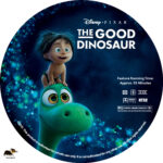 The Good Dinosaur (2015) R1 Custom Label