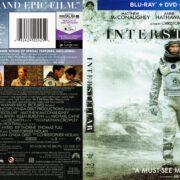 Interstellar (2014) R1 Blu-Ray Cover
