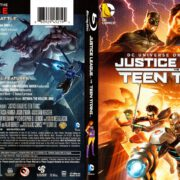 Justice League vs. Teen Titans (2016) R1 Blu-Ray Cover