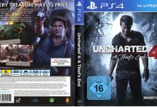 Uncharted 4 A Thief's End (2016) V2 PS4 German Cover