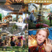 Alice in Wonderland / Alice Through the Looking Glass Double Feature (2010-2016) R1 Custom Blu-Ray Cover