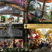 Alice in Wonderland / Alice Through the Looking Glass Double Feature (2010-2016) R1 Custom Cover