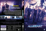 The Divergent Allegiant (2016) R2 DVD Swedish Cover
