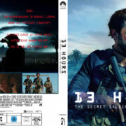 13 Hours: The Secret Soldiers of Benghazi (2016) R2 Custom German Blu-Ray Cover & label