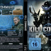 Kill Command (2016) R2 Custom German Blu-Ray Cover & label