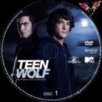 Teen Wolf: Staffel 1 (2011) R2 German Custom Labels
