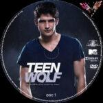 Teen Wolf: Staffel 2 (2012) R2 German Custom Labels