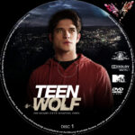 Teen Wolf: Staffel 3 (2013) R2 German Custom Labels