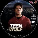 Teen Wolf: Staffel 3 (2013) R2 German Custom Labels