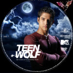 Teen Wolf: Staffel 5 (2015) R2 German Custom Labels