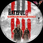 The Hateful 8 (2016) R2 German Custom Label