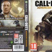 Call Of Duty Avanced Warfare (2014) XBOX ONE France Cover