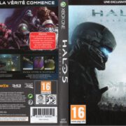 Halo 5 Guardians (2015) XBOX ONE France Cover