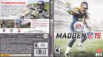 Madden NFL 15 (2014) XBOX ONE USA Cover