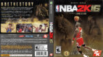 NBA 2K16 (2015) XBOX ONE USA Cover