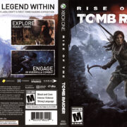 Rise of the Tomb Raider (2015) XBOX ONE USA Cover