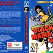 Black Mama, White Mama (1973) R2 Blu-Ray Cover & Label