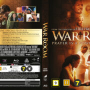 War Room (2015) R2 Blu-Ray Nordic Cover