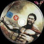 300 (2007) R2 German Blu-Ray Label