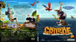 Robinson Crusoe 3D (2015) R2 German Blu-Ray Cover & Label