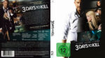 3 Days to Kill (2014) R2 German Custom Cover & label