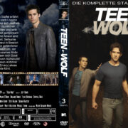 Teen Wolf: Staffel 3 (2013) R2 German Custom Cover