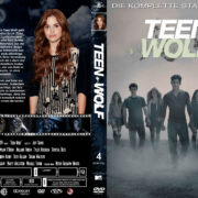 Teen Wolf: Staffel 4 (2014) R2 German Custom Cover