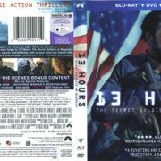 13 Hours: The Secret Soldiers of Benghazi (2016) R1 Blu-Ray Cover & labels