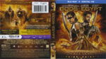 Gods Of Egypt (2016) R1 Blu-Ray Cover & label