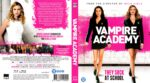 Vampire Academy (2014) R2 Blu-Ray Dutch Cover
