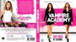 Vampire Academy (2014) R2 Blu-Ray Dutch Cover