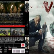 Vikings: Season 3 (2015) R0 Custom Cover