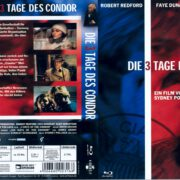 Die 3 Tage des Condor (1975) R2 German Blu-Ray Cover & label