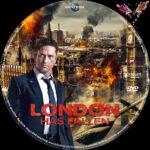 London has Fallen (2016) R2 German Custom Label