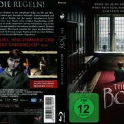 The Boy (2016) R2 German Custom Blu-Ray Cover & Label