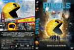 Pixels (2015) R1 Custom Cover & label