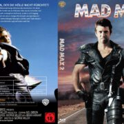 Mad Max 2 (1982) R2 German Custom Blu-Ray Cover & label