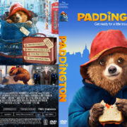 Paddington (2015) R1 Custom Cover & label