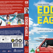 Eddie The Eagle (2016) R2 Blu-Ray Nordic Cover