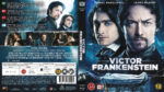 Victor Frankenstein (2015) R2 Blu-Ray Nordic Cover