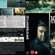 10 Cloverfield Lane (2016) R2 DVD Nordic Cover