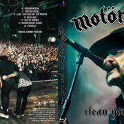 Mötorhead – Clean Your Clock (2016) R1 Blu-Ray Cover