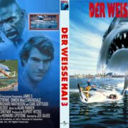 Der weisse Hai 3 (1983) R2 German Custom Cover & Label