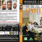 Spotlight (2015) R2 Blu-Ray Nordic Cover