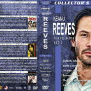 Keanu Reeves Film Collection – Set 2 (1986-1988) R1 Custom Covers