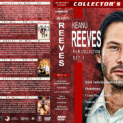 Keanu Reeves Film Collection – Set 3 (1989-1991) R1 Custom Covers