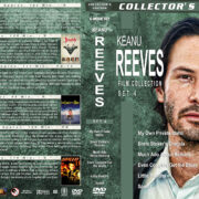 Keanu Reeves Film Collection – Set 4 (1991-1994) R1 Custom Cover