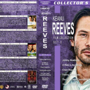 Keanu Reeves Film Collection – Set 5 (1995-1997) R1 Custom Covers