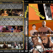 Never Back Down Triple Feature (2008-2016) R1 Custom Cover
